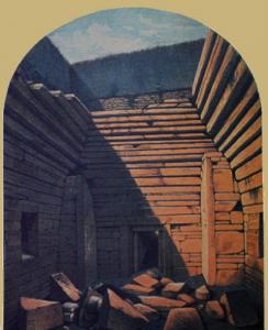 Maes Howe in 1861