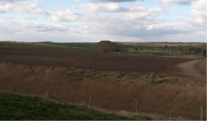 Silbury Hill from West Kennet long barroa