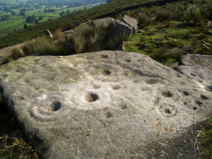 cup marked stone