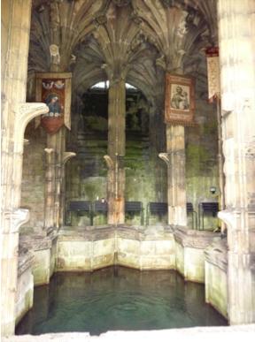 Holywell interior